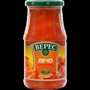 """Лечо болгарское""""ВЕРЕС""""(ст/б)500г"""