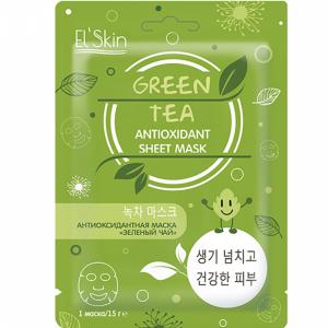 """Маска антивозр. """"ELSKIN"""" (зелен.чай) 15г"""