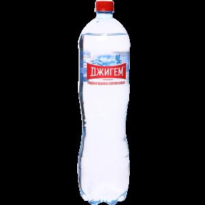 """Вода """"ДЖИГЕМ""""(пит.мин.газ.)1.5л ПЭТ"""
