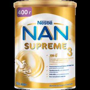 "Сухой молочный напит.""NAN 3 SUPREME""400г"