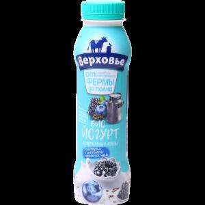 """Биойогурт""""ВЕРХОВЬЕ""""(2%ежев"""