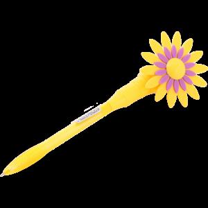 "Ручка шариковая ""VELVET"" (желтый)"