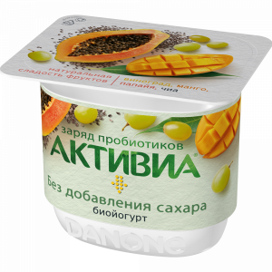 "Биойогурт""АКТИВИА""(вин"