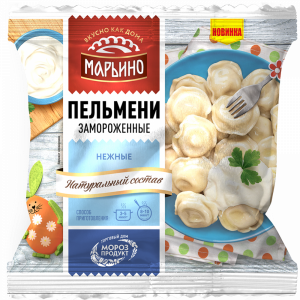 """Пельмени """"МАРЬИНО"""" (Нежные) РБ 400г"""