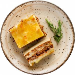 Лазанья итальянская с мясом ( зам) 1/300