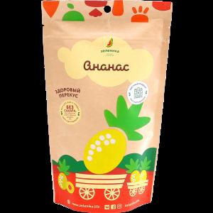 Здоровый фруктовый перекус из ананас 20г