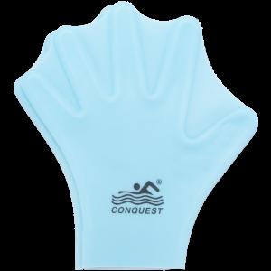 Аква-перчатки-лопатки (силиконовые)голуб