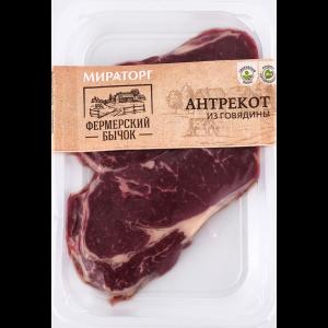 Антрекот из говядины (охл) РФ