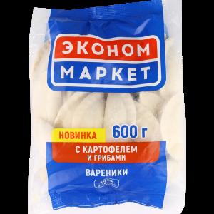 """Вареники""""ЭКОНОМ МАРКЕТ""""(карт./грибы)600г"""