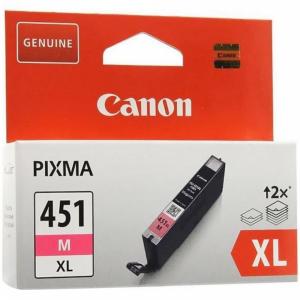 "Картридж""CANON""(CLI-451XLMпурп6474B001)"