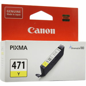 "Картридж""CANON""(CLI-471Y"