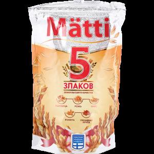 "Хлопья ""MATTI"" (5 злаков"