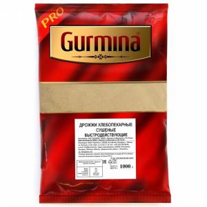 "Дрожжи хлебопек.""GURMINA"" (суш.) 1000 г"