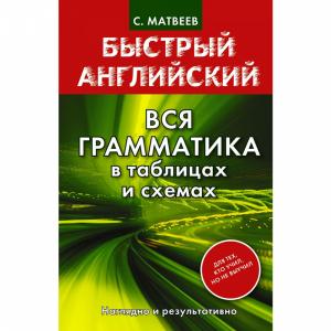 "Книга""ВСЯ ГРАММАТИКА В ТАБЛ.И СХЕМАХ"""