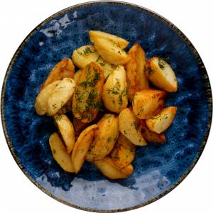 Картофельные дольки(запеч.