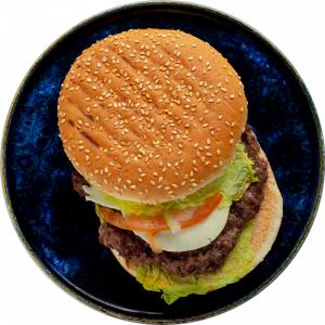 Гамбургер с говядиной (зам. )1/250