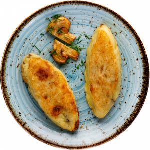 Зразы картофельные(с  гриб.