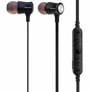 """Bluetooth-наушники бес""""AWEI""""(A921 чер)"""