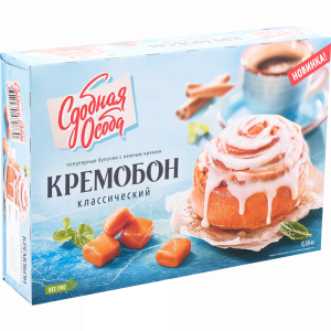 """Булочка""""КРЕМОБОН""""(классический)380г"""
