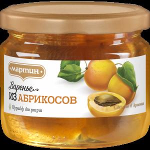 """Варенье из абрикосов """"МАРТИН"""" 390г"""