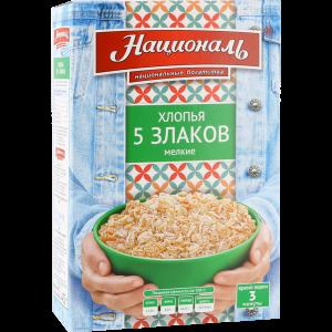 """Хлопья""""НАЦИОНАЛЬ""""(5 злаков"""
