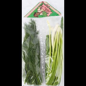 Зелень в ленте:лук-укроп 80г