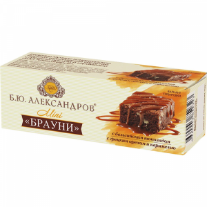 "Бисквит ""Б.Ю.АЛЕКСАНДРОВ""(брауни26%) 40г"