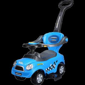Каталка-автомобиль (голубой
