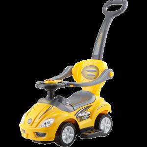 Каталка-автомобиль (желтый
