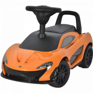 Каталка-автомобиль (оранжевый