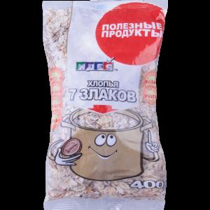 """Хлопья """"НТВ"""" (7 злаков) 0.4 кг"""