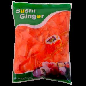 """Имбирь""""Sushi ginger""""маринов розовый"""