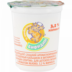 """Бифидин """"СПОРТИК"""" (яблоко 3"""