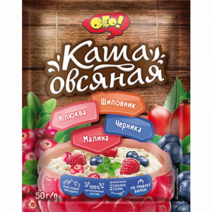 """Каша овсяная""""ОГО!""""(с мал"""