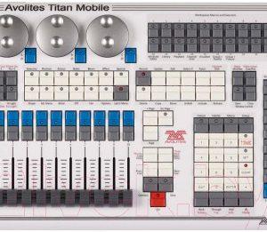 Пульт для светового оборудования Avolites Titan Mobile
