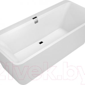 Ванна квариловая Villeroy & Boch Wellness Squaro Edge 180x80 / UBQ180SQE9W2V-01